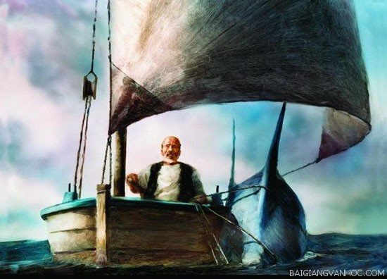 """Phân tích tác phẩm """"Ông già và biển cả"""" của nhà văn Hemingway"""
