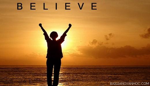 Nghị luận về niềm tin vào cuộc sống
