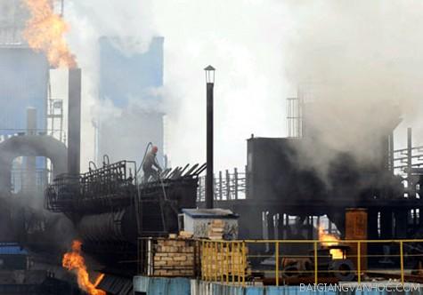 Nghị luận xã hội về hiện tượng ô nhiễm môi trường hiện nay