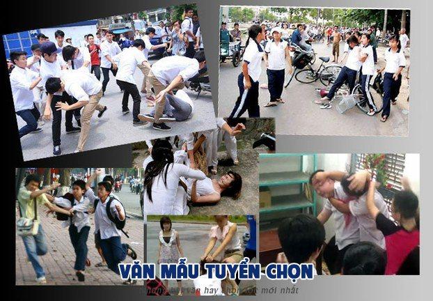 nghi luan ve bao luc hoc duong - [Văn mẫu tuyển chọn] Nghị luận xã hội về bạo lực học đường