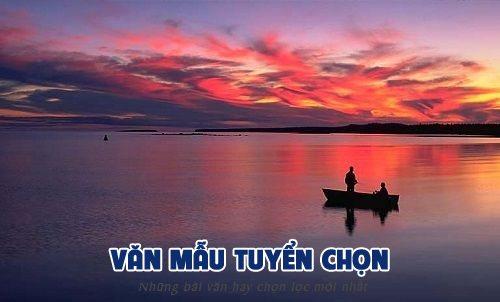 phan tich tac pham chiec thuyen ngoai xa - [Văn mẫu tuyển chọn] Phân tích tác phẩm Chiếc thuyền ngoài xa của Nguyễn Minh Châu